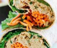 Shaorma sănătoasă cu ton și avocado
