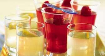 Jeleu Cu Vodka Si Fructe