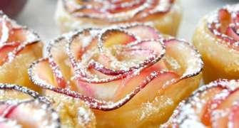 Trandafiri din mere