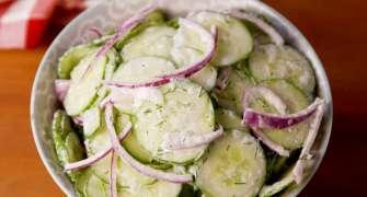 Salată de castraveți cu iaurt
