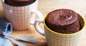 Prăjitură cu ciocolată - gata în 5 minute