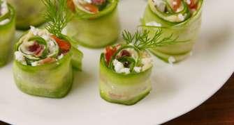 Sushi în stil grecesc