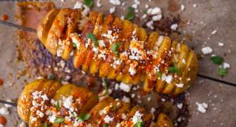 Spirale de cartofi cu chilli și brânză
