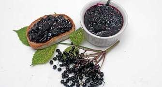 Dulceață din fructe de soc