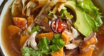 Supă mexicană de pui