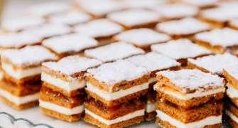 Prăjitură cu foi de bulion