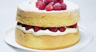 Tort Sponge Cake - simplu și rapid
