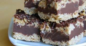Batoane Cu Ciocolata Si Ovaz - Fara Coacere