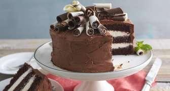 Tort de ciocolată cu cremă de mascarpone