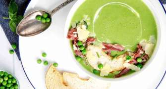 Supă cremă de mazăre