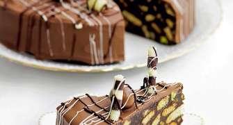 Tort de ciocolată cu biscuiți