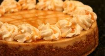 Cheesecake Caramel macchiato