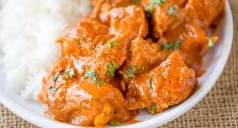 Butter Chicken - piept de pui în stil indian