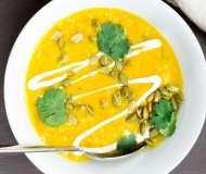 Supă cremă de mazăre galbenă