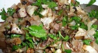 Salata carne de vita si verdeata