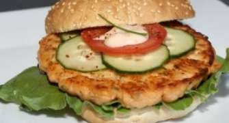 Somon burger