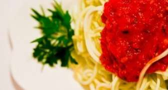 Spaghetti Raw Din Dovlecei
