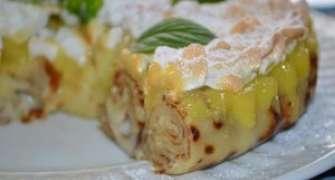 Tort de clatite Crepe Suzette