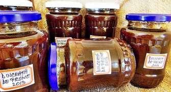 Dulceata aromata din prune bistrite