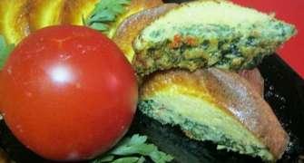 Omleta cu spanac si condimente mediteraneene