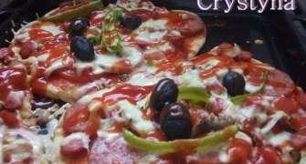 Pizza Calzone Al Prosciuto (doar ca nu e ^impaturata)