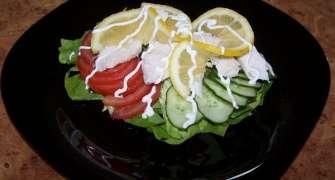 Salata cu pui ...Pentru o silueta perfecta !!!