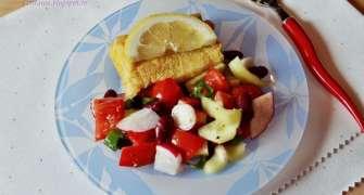 Salata de cruditati cu fasole boabe