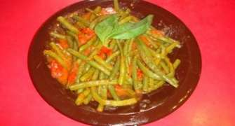 Salata de fasole verde cu rosi