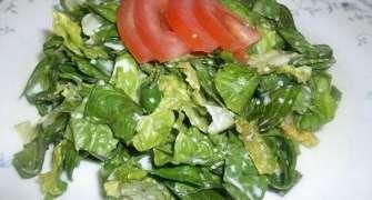 Salata de salata verde oparita (cu iaurt)