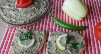Salata de vinete cu iaurt si patrunjel verde