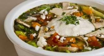 Supa De Legume Cu Varza De Bruxelles Si Smantana Din Caju (raw Vegan)