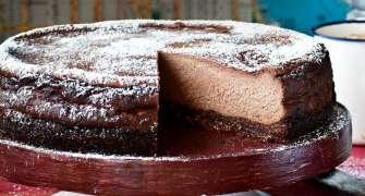 Cheesecake Cu Ciocolata Si Alune