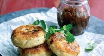 Chiftele De Ciuperci Cu Mozzarella Si Risotto