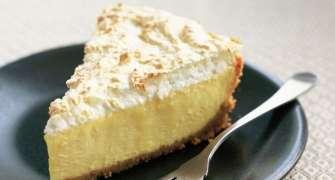 Meringue Cheesecake Cu Lamaie Si Cocos