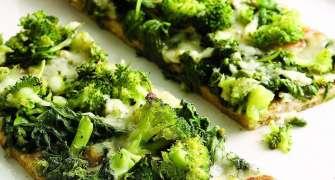 Pizza Verde, O Varianta Sanatoasa Plina De Legume